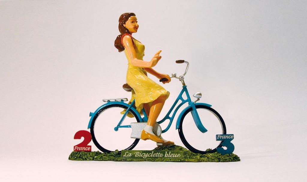 """""""La bicyclette bleue"""""""
