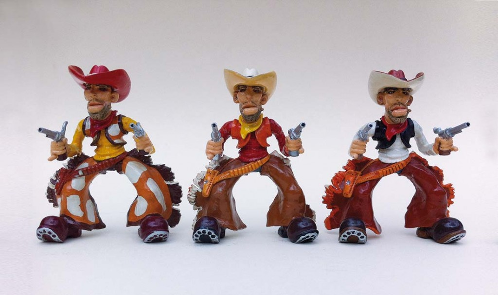 """""""Trois cowboys"""""""