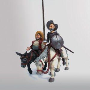 """""""Don Quichotte Et Sancho Pansa"""""""