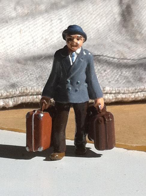 """""""L'homme au deux valises"""""""